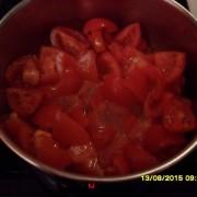 Faccio a pezzetti il Pomodoro