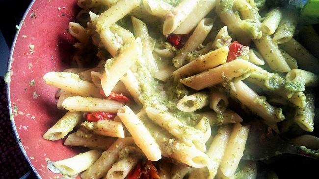 Ricetta facile, Penne con Broccoli e Pomodorini al forno