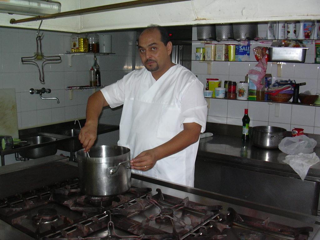 Festival Brodetto Fano chef Libia