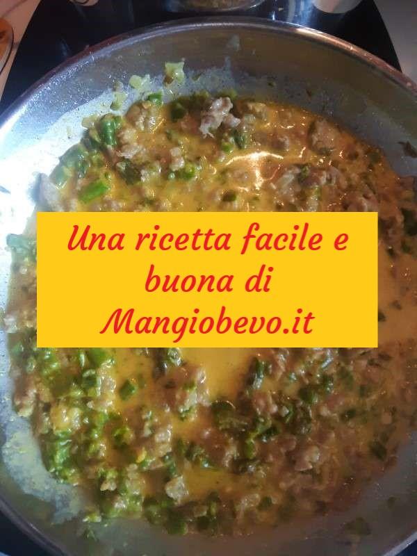 Cover Asparagi Salsiccia Zafferano Sugo Ricetta