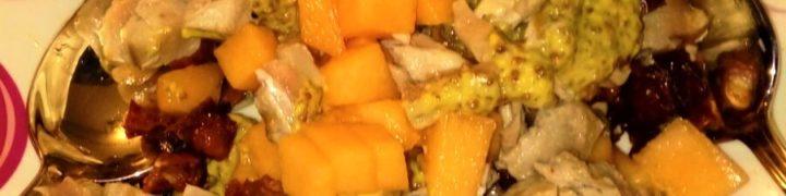 Ricette estive, Insalata con Tonno fresco e Melone